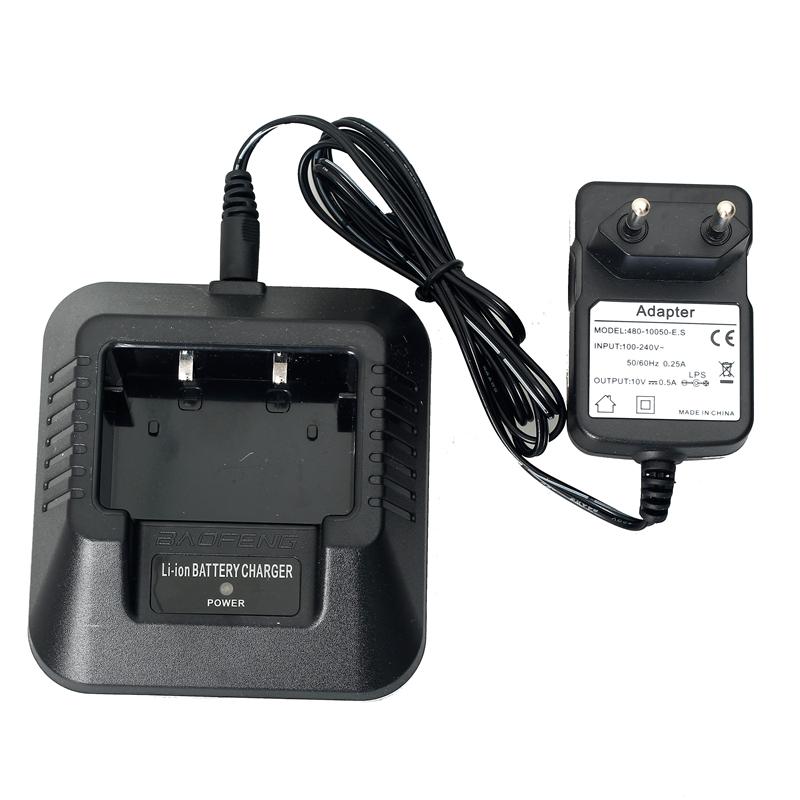 Зарядный стакан и адаптер для рации Baofeng UV-5R/UV-6R