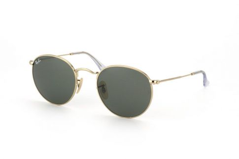 Ray Ban Round Metal RB3447 001