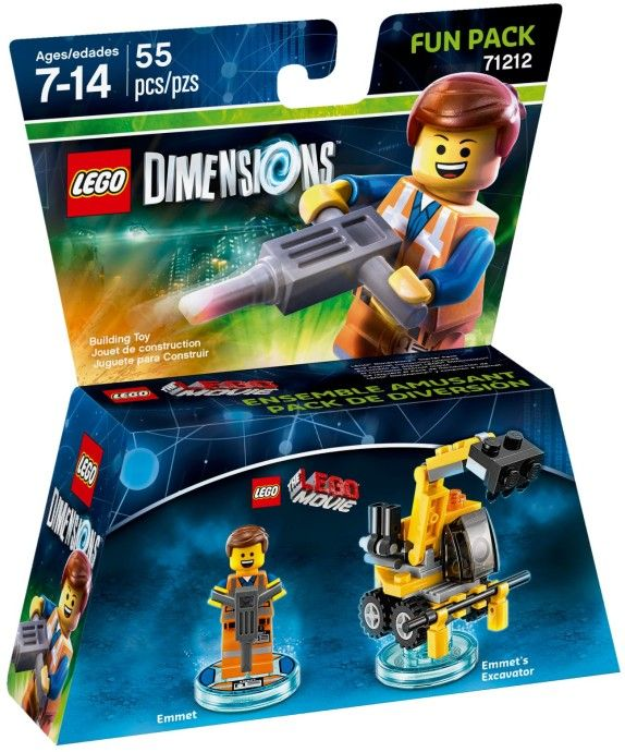Lego Dimensions  71212  Lego Movie Эмет