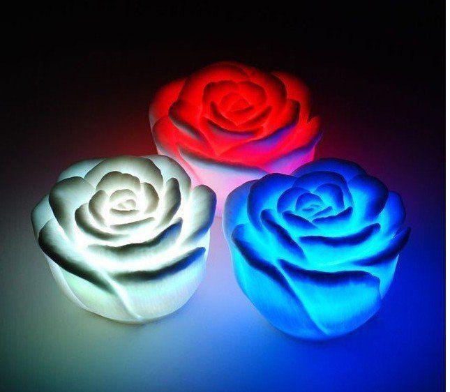 LED светодиодные свечи  РОЗОЧКА