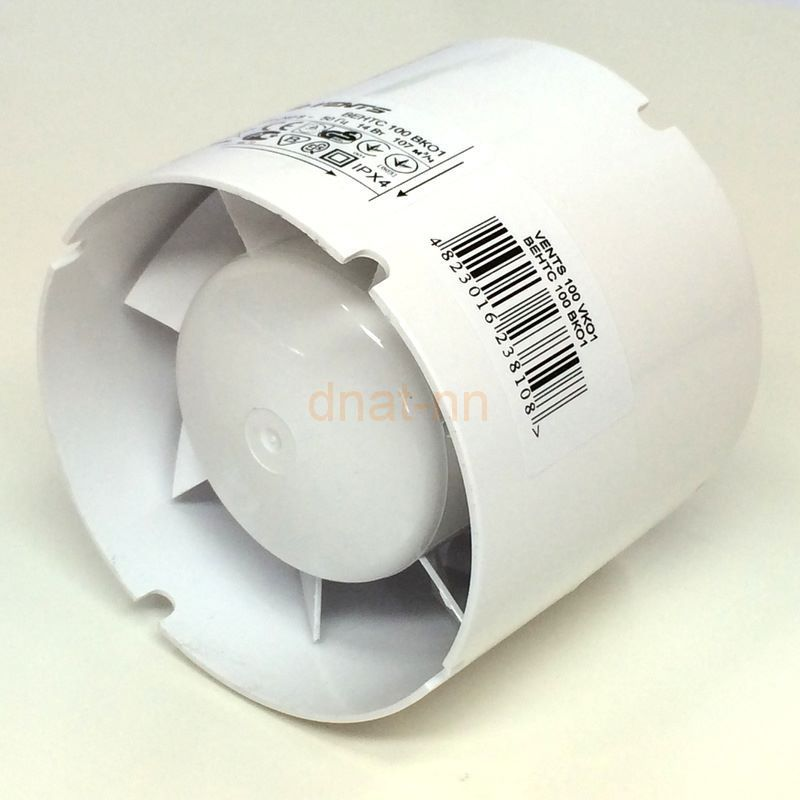 Вентилятор канальный 125 мм.
