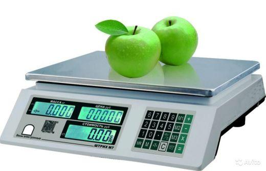 Весы торговые электронные ШТРИХ М7Т без стойки