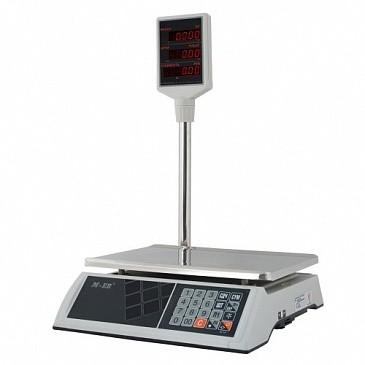 Весы торговые M-ER 327P LCD.