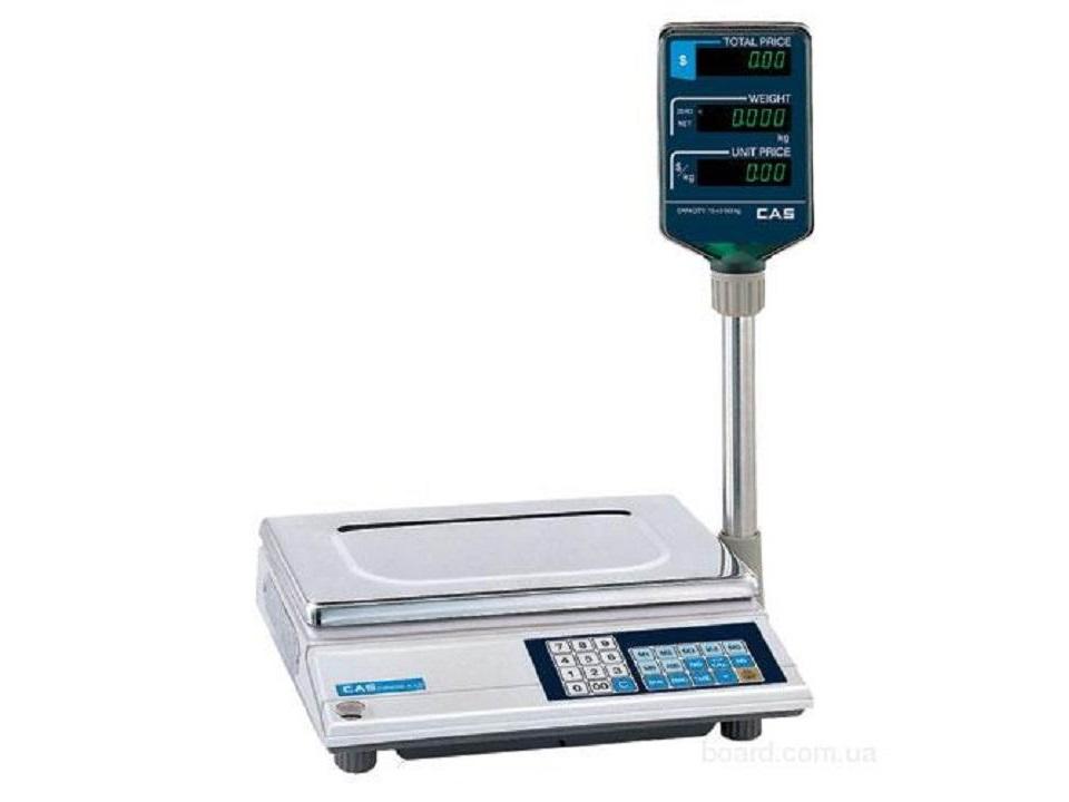 Весы торговые CAS AP-1 M