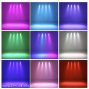 Прожектор светодиодный led par 12 RGB