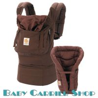 ERGO Baby CARRIER ORGANIC COLLECTION Bundle of Joy Twill Dark Chocolate with Kona Coffee BCII9TODCKNL
