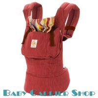Слинг-рюкзак ERGO BABY CARRIER Эргорюкзак для переноски малышей «Sangria Original» [Эрго Беби BC608LPRNL слингорюкзак Сангрия]