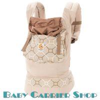 Слинг-рюкзак ERGO BABY CARRIER Эргорюкзак для переноски малышей «Lattice Organic» [Эрго Беби BCO25220NL слингорюкзак Латук]