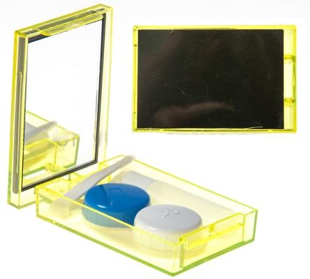 Набор по уходу за контактными линзами (полупрозрачный)