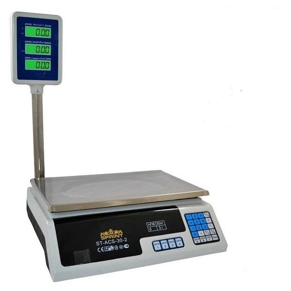 Весы торговые Sprint ACS-40