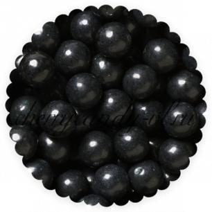 Посыпка шарики перламутровые, белые и черные (4 мм)