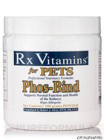 Phos-Bind Гидроксид алюминия порошок для домашних животных с ХПН 200 гр. хватит на 500-2000 дней применения