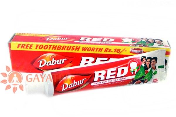 "Зубная паста ""Ред""100гр.Производитель""Дабур""/Red tooth paste,100gm/Dabur/140/"