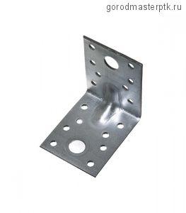 Уголок крепежный оцинкованный 70х70х55х2 мм