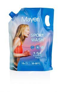 Гель для стирки спортивной (мембранной) одежды Mayeri Sport Wash 1,5 л