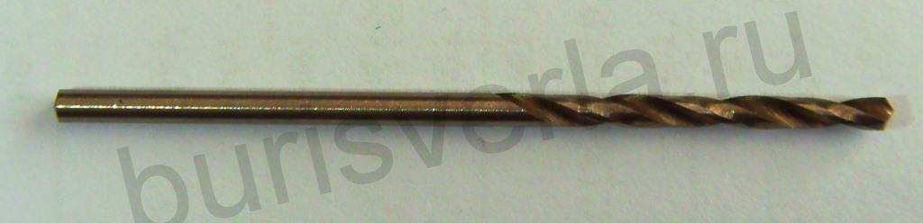 Сверло по металлу 2 мм, Р6М5