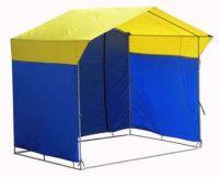 Палатка торговая 4х3, разборная «Домик» из квадратной трубы