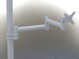 Кронштейн DS-2-40-250 Провода снаружи.