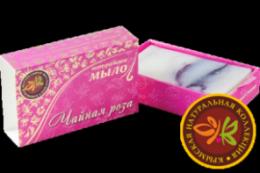 """Натуральное мыло ручной работы """"Чайная роза"""" 75гр"""
