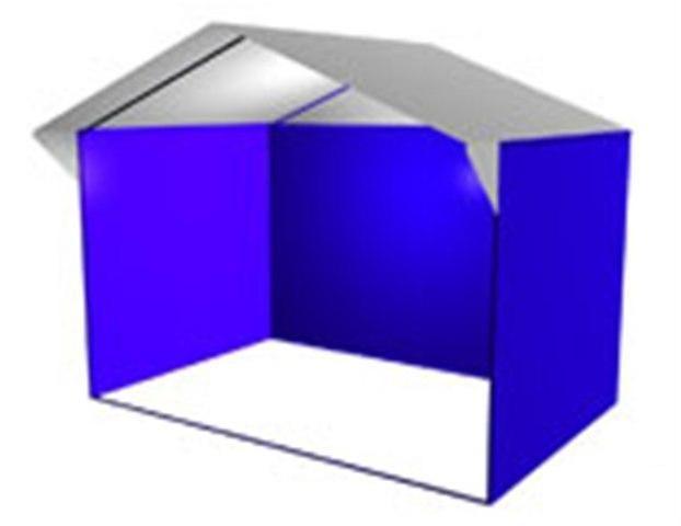 Палатка Домик 3 х 2