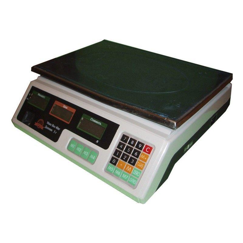 Весы торговые электронные Империум Либра ACS-A9