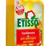 Удобрение ETISSO для всех комнатных цветущих растений.
