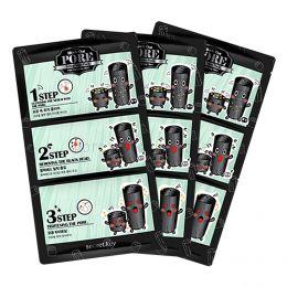 SECRET KEY  BLACK OUT PORE  3-Step Nose Pack Pore Tightening  Effect (7g) - 3 -шаговая система очистки кожи в области носа.