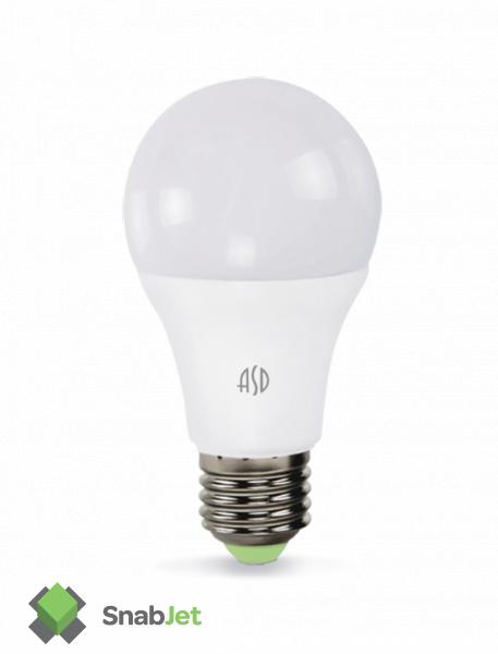 Лампа светодиодная LED-A60-standard 5Вт 160-260В Е27 450Лм
