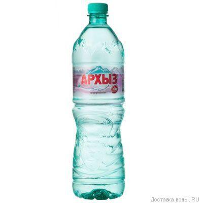 Питьевая вода Архыз. Негазированная