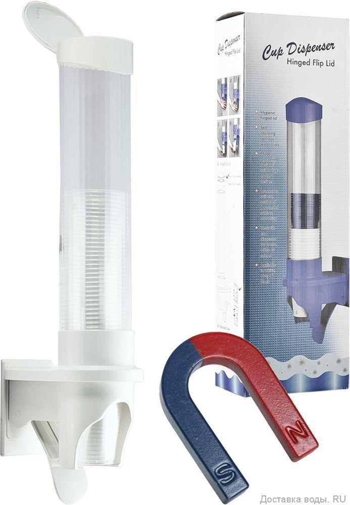 Стаканодержатель Aqua Work с дозатором (крепление на магнитах)