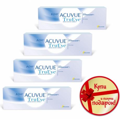 1-Day Acuvue TruEye 30 pk (4 упаковки)