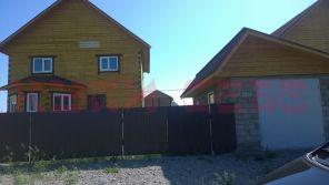 Благоустроенный двухэтажный брусовой дом с. Хомутово ул. Центральная, общая площадь 140 кв.м.