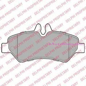 Накладка дискового тормоза: W906  SPRINTER задние 3.0-3.5T