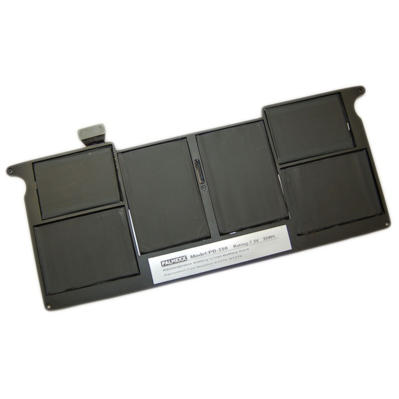 "Аккумулятор PALMEXX A1375 для ноутбука Apple Macbook Air 11,6"" A1370/A1375/A1390 (7,3V-35Wh)"