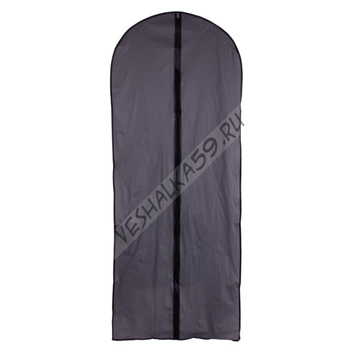 Чехол для одежды серый