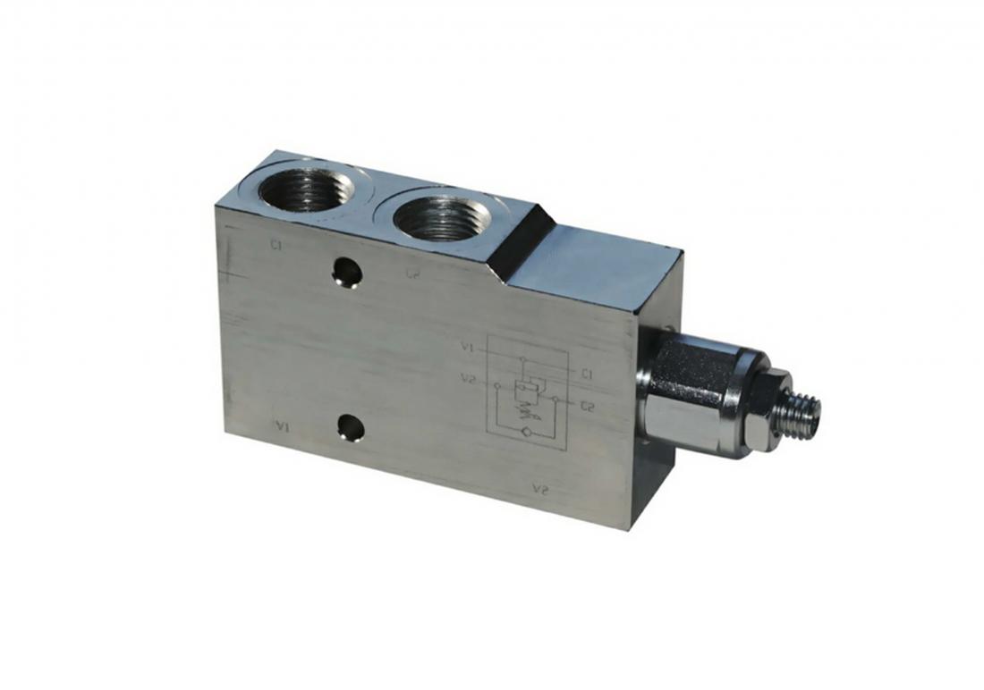 UZPHE6  мобильный тормозной клапан