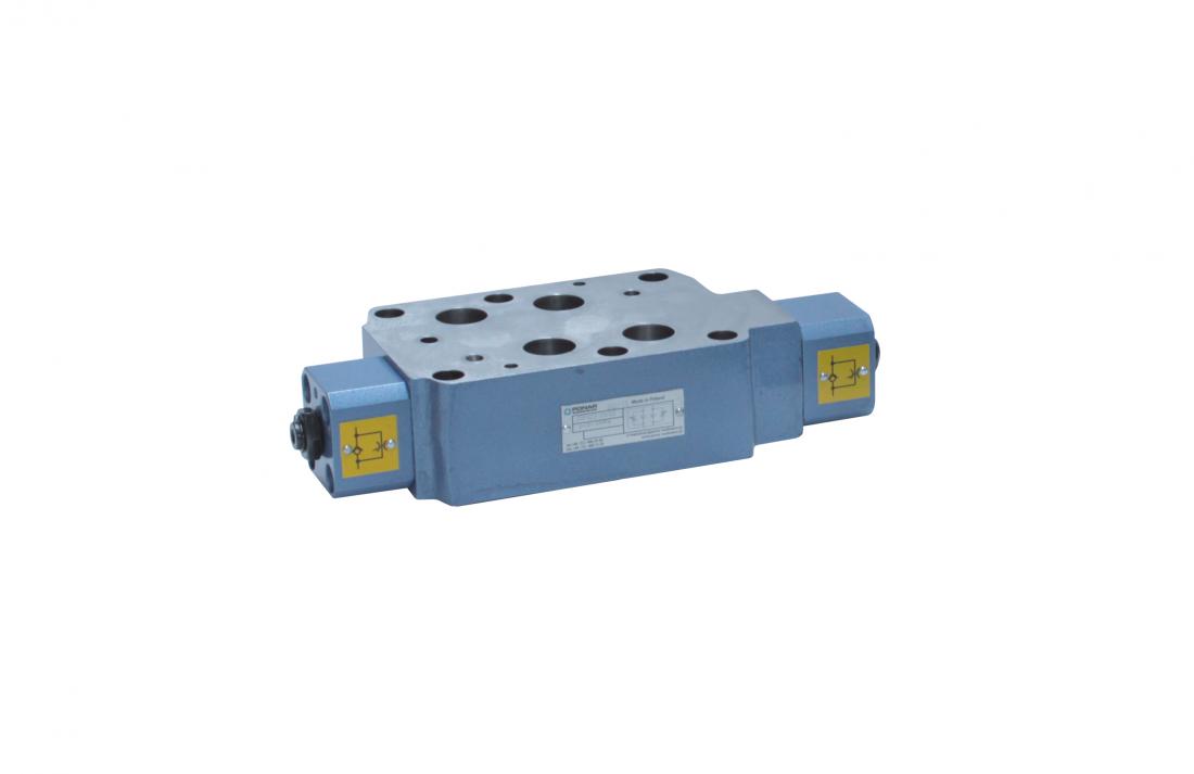 Z2FS16 регулируемый дроссель с обратным клапаном модульного монтажа