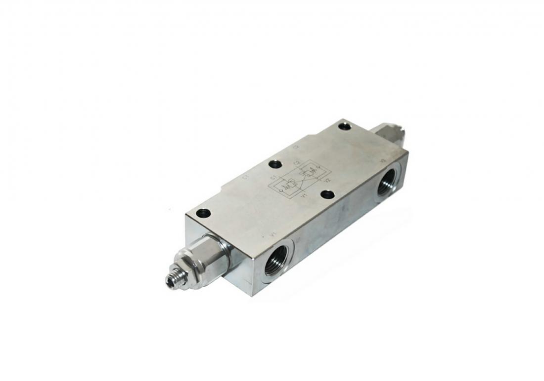 Мобильный сдвоенный тормозной клапан тип 2UZPHE6