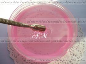 Однофазный прозрачно розовый  гельTM Nail Master Pink UV One Gel #3 высокой вязкости 1000 мл