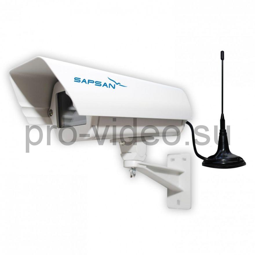 IP-камера Сапсан IP-Cam 1407 3G/4G (LTE) уличная 1.3 МП, 6-22 мм, 25 кадр/с, день/ночь (авто)