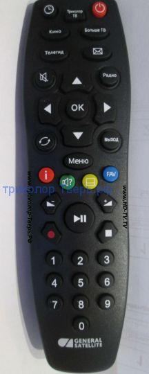 Пульт дистанционного управления DDL-1034, универсальный, для ресиверов Триколор ТВ