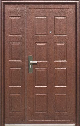Дверь  двустворчатая D105