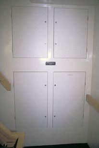 Дверцы одностворчатые