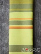 """Слинг-шарф, Амама """"Табатай"""", зелёный полосатый"""