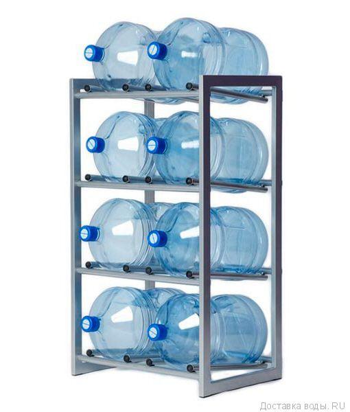 Стеллаж - подставка для 8 бутылей