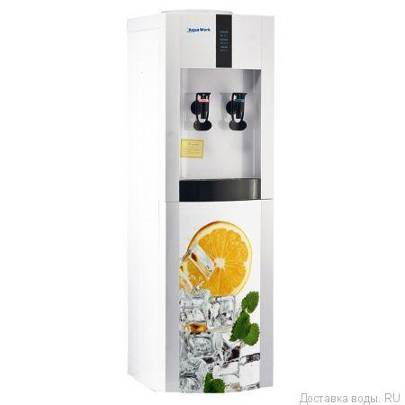 Кулер для воды Aqua Work 16-LD/EN Оранжевый микс