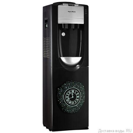 Кулер для воды  Aqua Work 712-S-W Часы