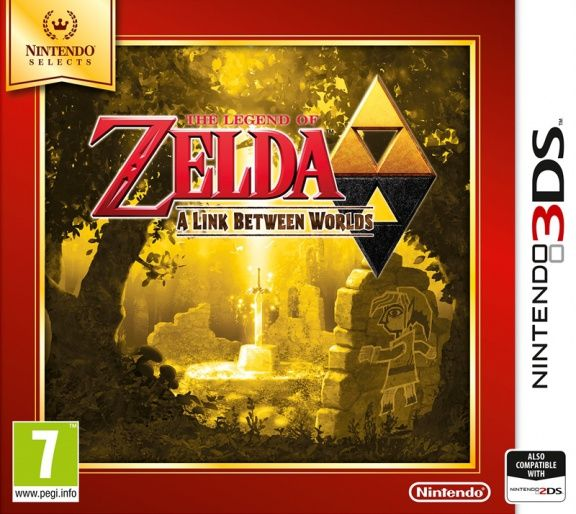 Игра The Legend of Zelda A Link Between Worlds (Nintendo 3DS)