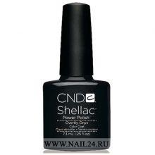 CND Shellac OVERTLY ONYX 0.25oz/7.3мл