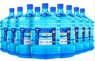 "Вода ""Аква чистая"" 10 бутылей по 19л."